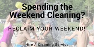 Weekend-cleaning