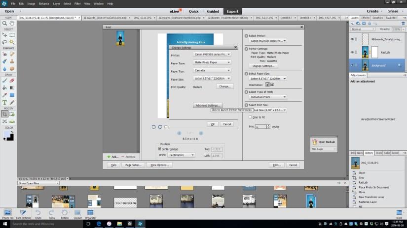 print tutorial 2