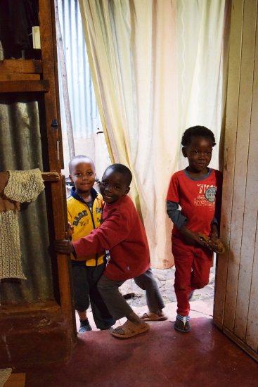 Some of the beautiful kids we met in Kawangware