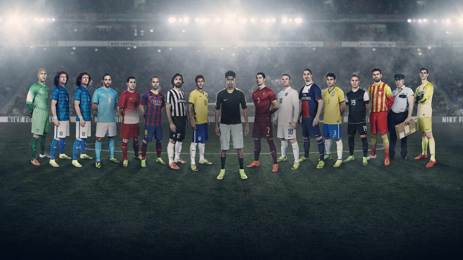 Qué fue de los 24 jugadores que aparecieron en la 'jaula de nike' en. Top 5 Los Mejores Comerciales De Futbol De La Historia