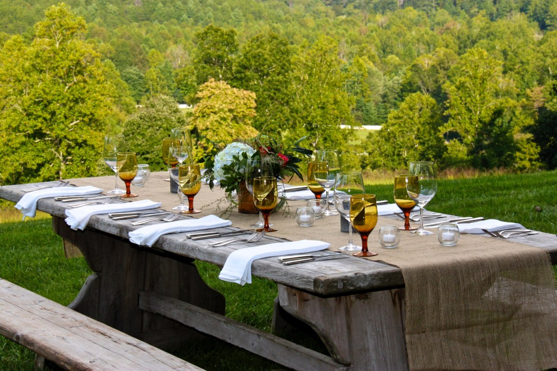 Table set for 8
