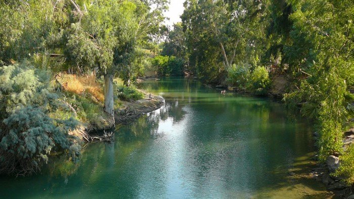 The-River-Jordan-at-the-point-where-it-is-believed-by-many-that-John-the-Baptist-baptized-Jesus-Christ