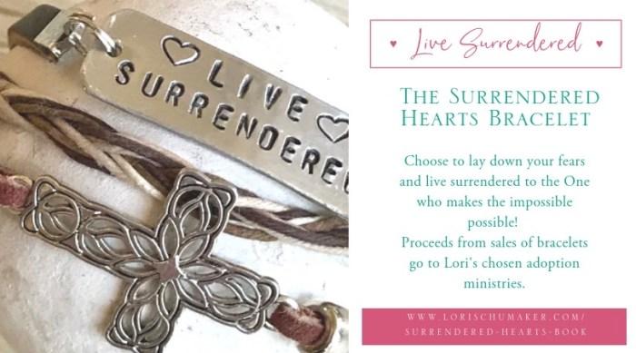 Flyer 1 Surrendered Hearts Bracelet - fb