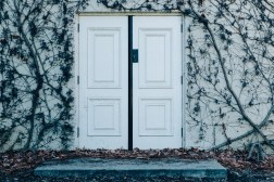 door-dry-leaves-entrance-291647