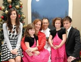 Anna, Abigail, daughter Rhonda, Edward, Sarah, Tristan