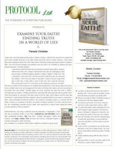 Examine Your Faith Media One-sheet