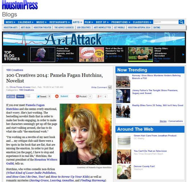 Houston Press 100 Houston Creatives 2014