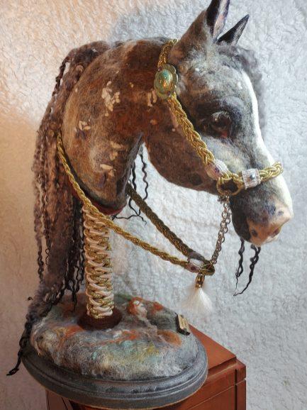 Arabian Horse Bust