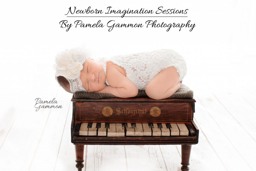 Newborn Imagination Sessions | Pamela Gammon Photography | Grown Up Themed Newborn Pictures | Themed Newborn Photography | Themed Newborn Pictures | Newborn Piano Pictures | Newborn Pianist | Newborn Musician Pictures | Baby Musician | Newborn Photography | Baby Photography | Newborn Photographer | Baby Photographer