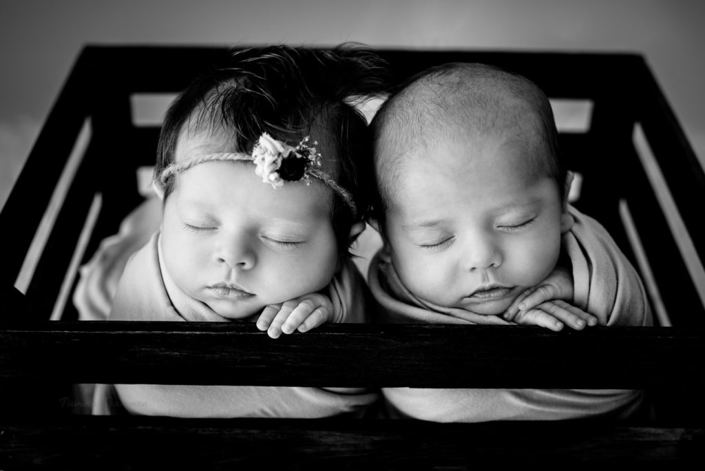 Newborn Twin Photographer Portsmouth OH