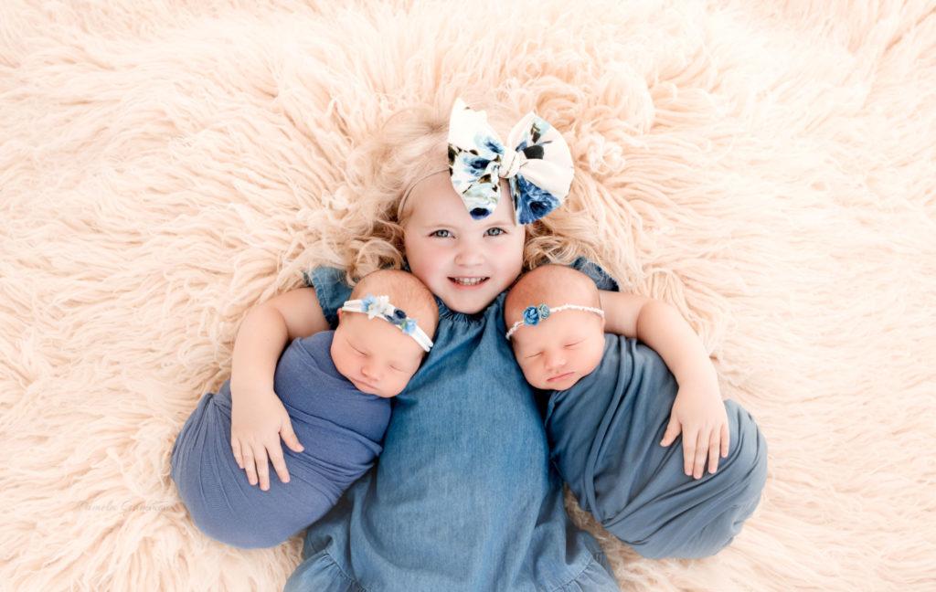 Newborn Twin Session