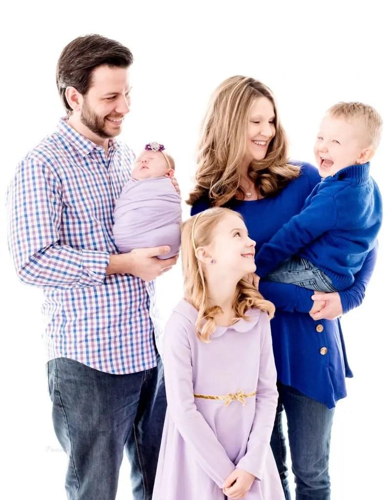 KY Newborn Family Photos