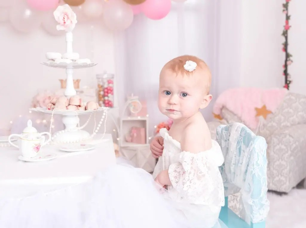 Tea Party 1 Year Old