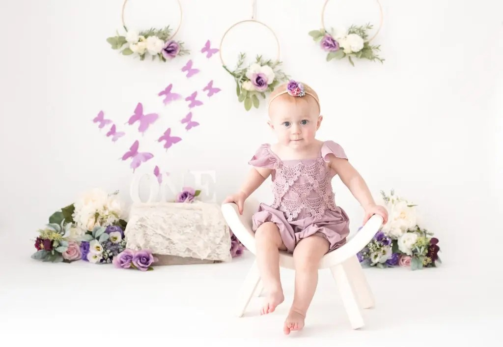 12 Month Old Photography Session