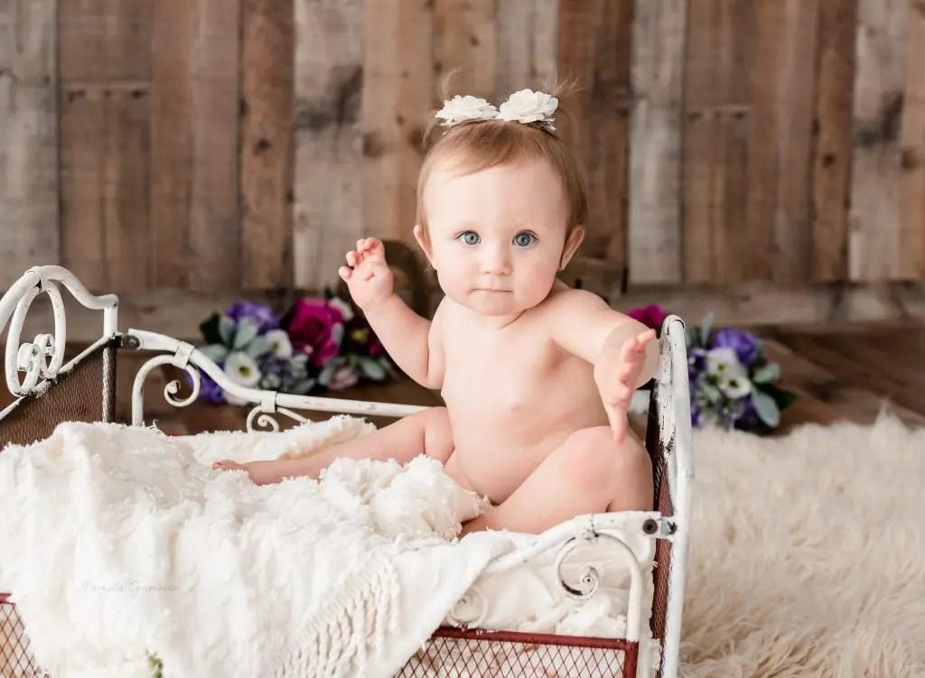 Southern Ohio Baby Girl Photoshoot