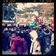 Temple Fair Crowds