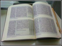 A book with reproductions of the manuscripts I was consulting