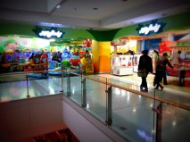 One of the indoor playgrounds in the mall
