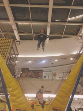 Dylan Bungee Bouncing