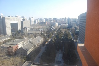 View from our 18th Floor Apartment on a Clear Day