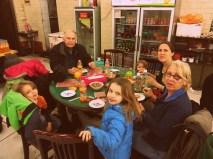Dinner in the Muslim quarter