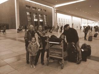 Finally, at the Lhasa train station!