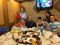 Final dinner in Hong Kong with friends