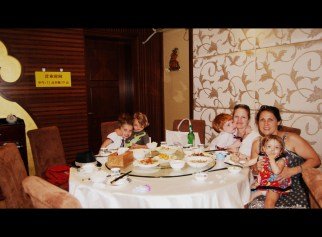 Our Dai restaurant graduation dinner