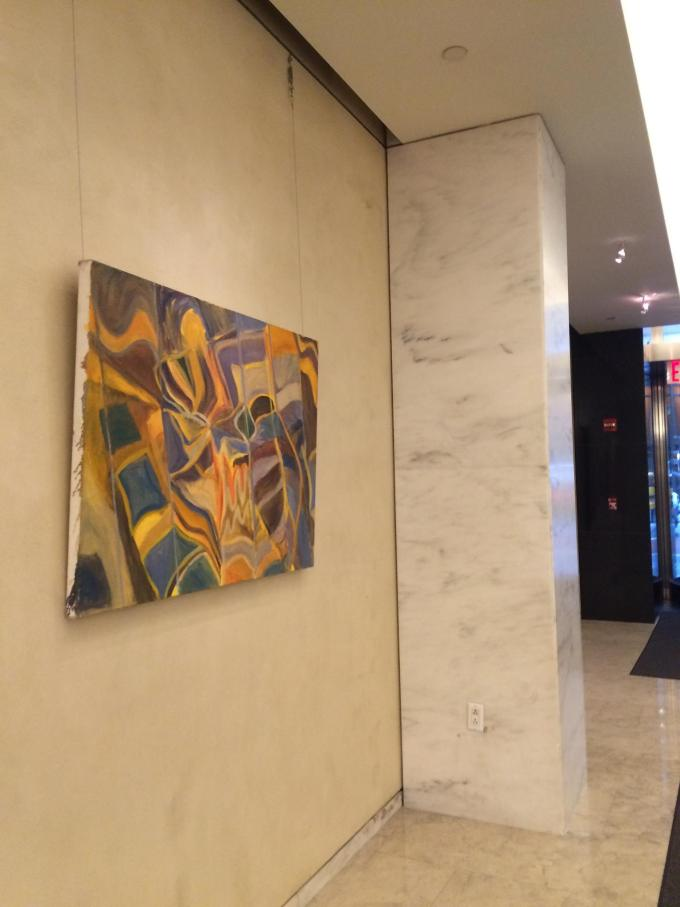 """""""Outside of Oceania"""" in #Chashama exhibit at 733 3rd Avenue, NYC"""