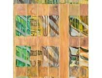"""601 Lexington Avenue, II"", oil on canvas, 5' x 4', 2011"