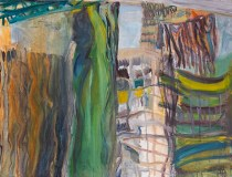 """Jane's Carousel, IV"", oil on canvas, 36"" x 42"", 2013"