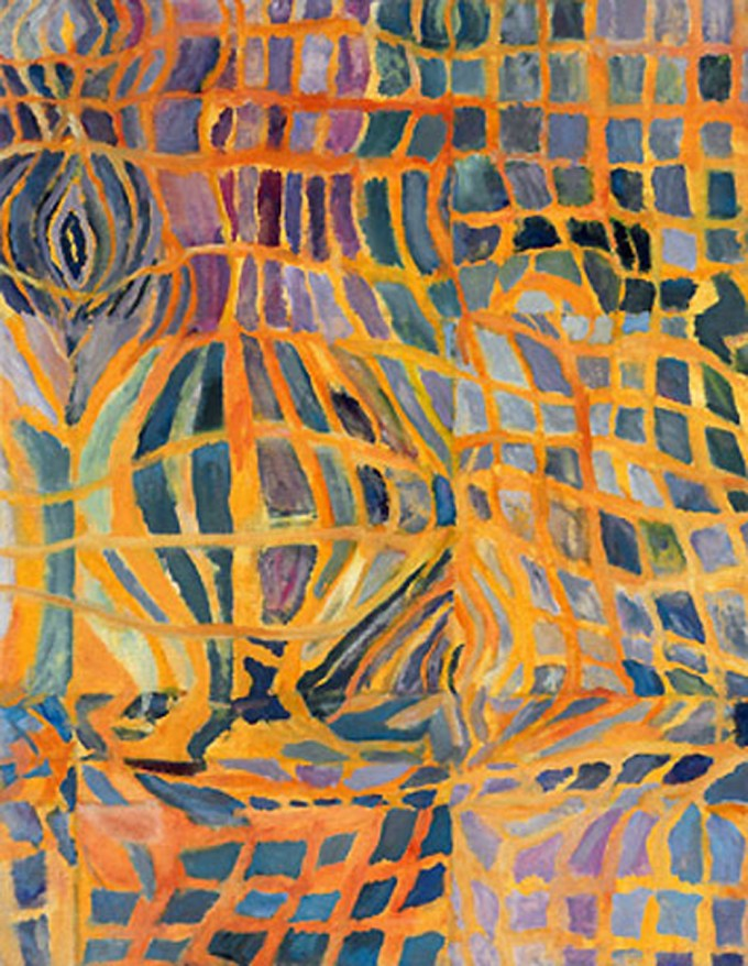 """WFC, II"", oil on canvas, 18"" x 14"", 2002"
