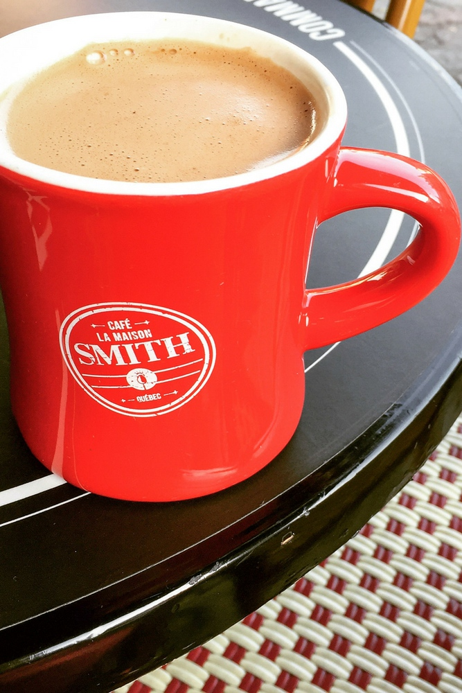 Chocolat chaud at La Maison Smith Place Royale