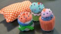Cupcake Pincushions