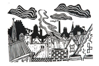 Chimney Pots and Washing Lines #2 (2013)