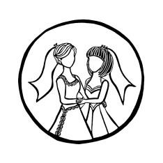 David P Scott Wedding Photography Logo (2017)