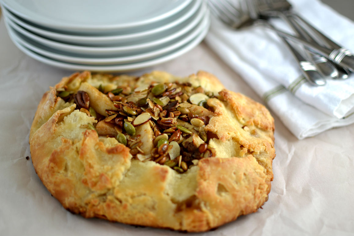 Pear Nut Galette