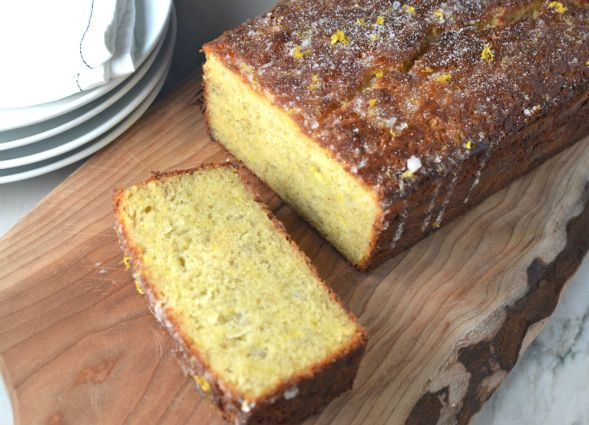 The Best Banana Bread with Lemon Sugar Glaze
