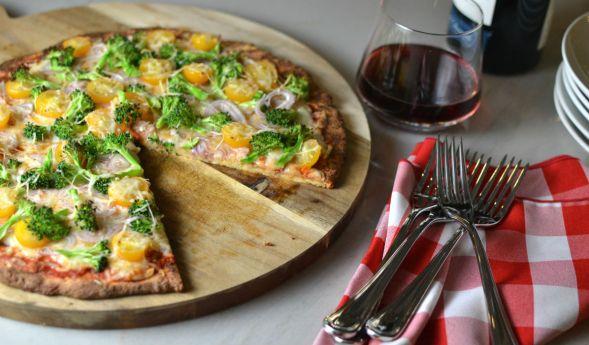 Paleo/Keto Pizza