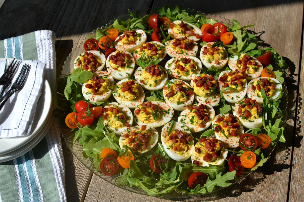 BLT Deviled Eggs