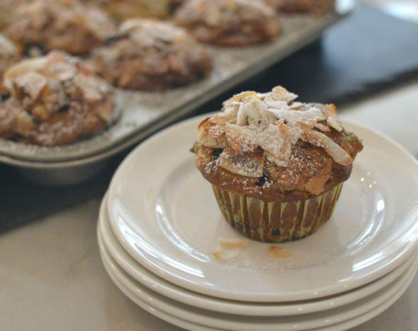 Triple Coconut Breakfast Muffins