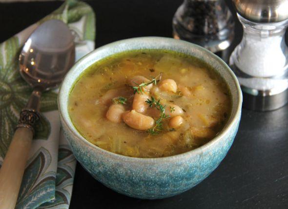 White Bean and Leek Soup