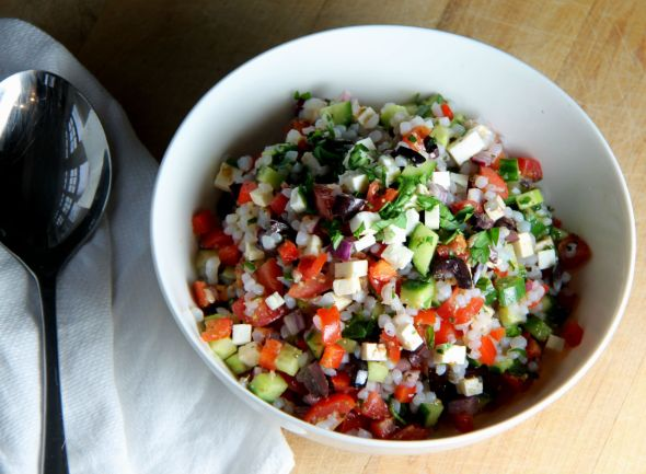 Greek Shirataki Salad