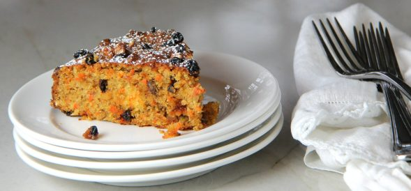 Carrot Currant Cake
