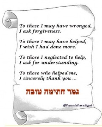 to those I may have wronged