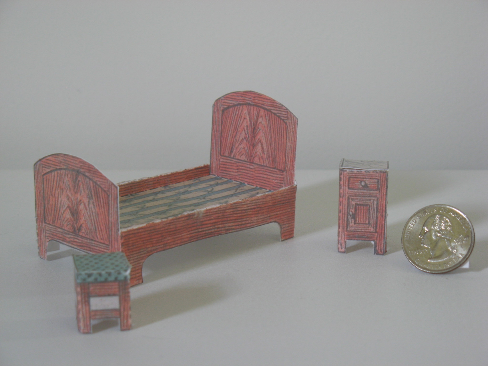 dollhouse sofa single chair philippines cardboard furniture patterns plans diy free