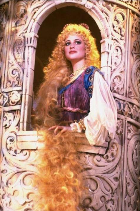 Pamela Winslow Kashani as Rapunzel in Into the Woods