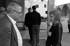 Bengt Bivall och Lisa Ahlqvist.