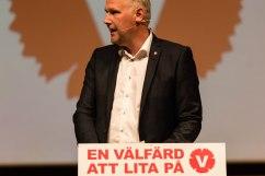 Jonas Sjöstedt på Vänsterdagarna i Malmö 2015. Fotograf Jöran Fagerlund.
