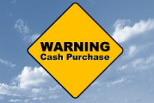 cash buyer warning sign
